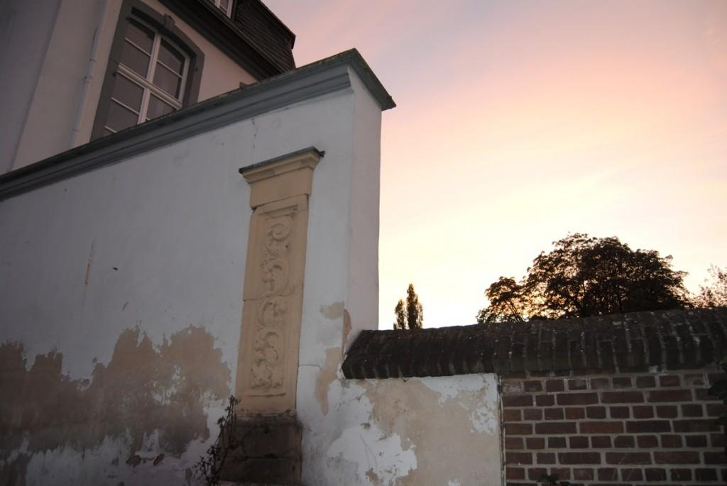 Brauweiler Abbey Backyard