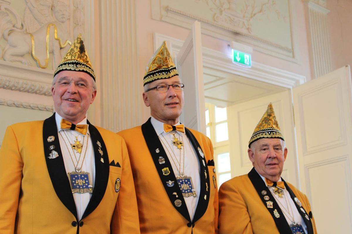 Brauweiler Dreigestirn 2013:14