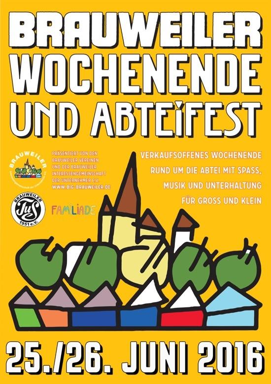 Brauweiler Wochenende 2016