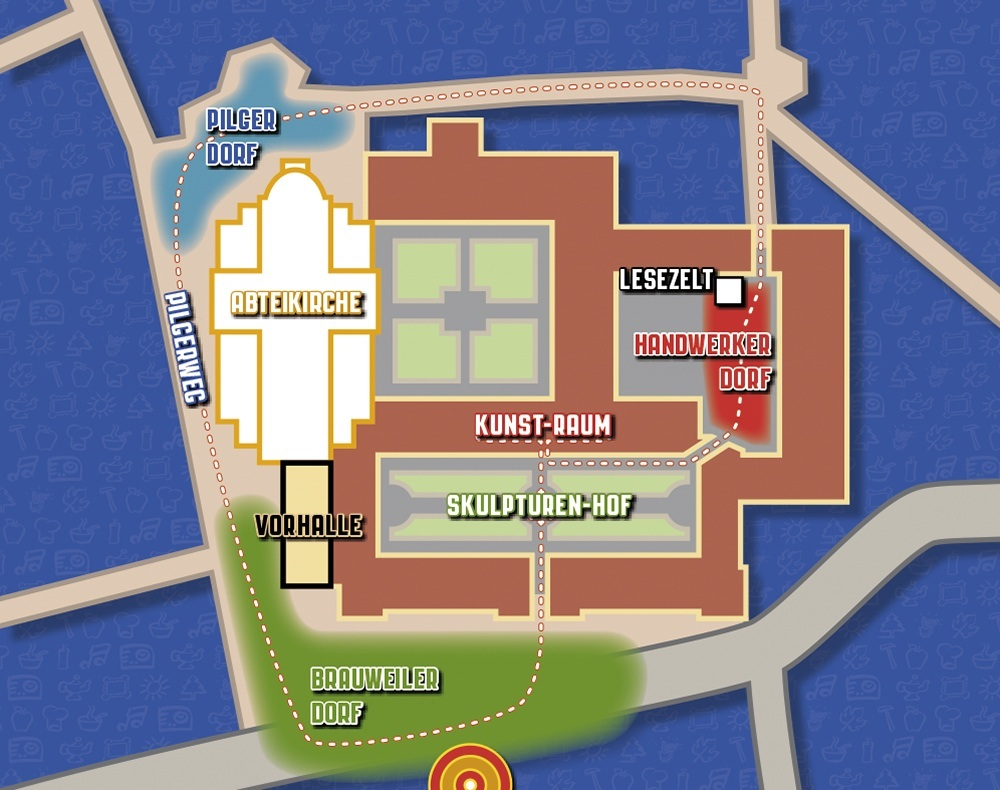 Nikolausmarkt 2013 Plan